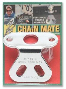 Chain Mate Trailer Hitch Safety Chain Holder Towing Hauling