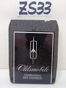 Vintage Oldsmobile 8 Track Factory Show Car Cutlass 442 Hurst Olds 1973
