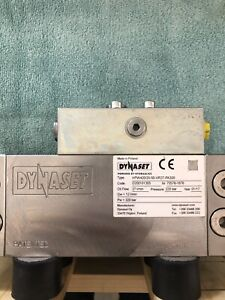 Dynaset Hydraulic High Pressure Fluid Pump New Anodized Coating Rubber Mount