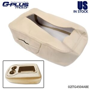 Armrest Console Jump Seat Cover Top For 2007 2013 Silverado Tahoe Sierra Beige