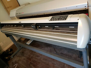 Mutoh Valuecut Vc1800 Commercial Vinyl Plotter Cutter Nice Unit 72