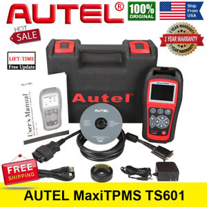Autel Ts601 Tire Pressure Monitoring System Obd2 Scanner Tpms Programming Tool