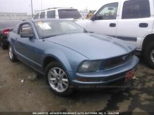 Driver Front Seat Bucket 1st Digit Of Trim Id P Fits 05 07 Mustang 1872412