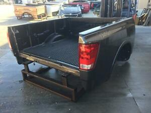 2012 Nissan Titan Bed Box Crew Cab Sv 139 8 Wb W Utility Box Package 11 12