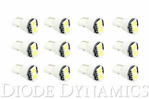 194 Incandescent Bulb Replacement Led Smd2 Led Cool White 12pk Diode Dynamics