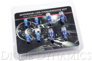Interior Lights Led Conversion Kit 2015 2016 2017 Ford Mustang Stage 1 Blue