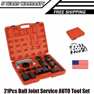 Ball Joint Service Removal Tool Press Set With Master Adapter C Frame Kit