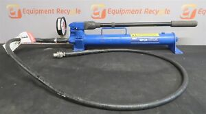 Otc 4012a 2 Two Speed Hydraulic Hand Pump 10000 Psi Large Capacity