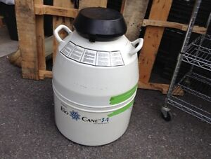 Thermolyne Bio Cane 34 Can Cane System Cryo Tank
