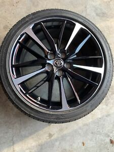 19 Toyota Camry Xse 2018 2019 Oem Wheel Rim Bridgestone Tire 90 Great Shape