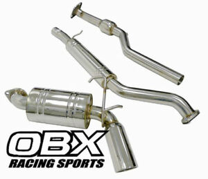 Obx Catback Exhaust For 06 07 08 09 10 11 12 Mazda Mx 5 Miata