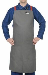 Weldas Arc Knight Welding Bib Apron Heavy Duty Flame Retardant Cotton