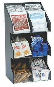 Dispense rite Vco 6 Six Section Countertop Vertical Lid condiment 6 Section