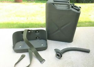 Us Military Vehicle Gas Jerry Can W Carrier Spout Willys Jeep Mb Ford Gpw