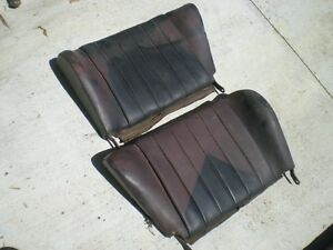 Porsche 356 Rear Back Rest Seats 2