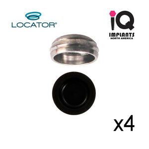Zest Locator Genuine Replacement Metal Housing Cap Male Assembly 4 Pk