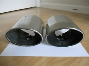 Set Of 2 Oem 2013 2015 Honda Accord V6 Chrome Exhaust Finish Tips