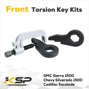 Front Torsion Bar Key 1 3 Lift Kit For 1999 2007 Gmc Chevy Silverado Sierra