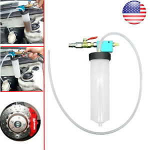 Car Vehicle Vacuum Brake Bleeder Tank Fluid Oil Change Pump Oil Tool Us Hot