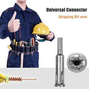 5 hole Electrician Universal Automatic Twisting Wire Stripping And Doubling Tool