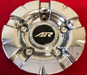 One Used American Racing S608 48 1637200011 Custom Chrome Rim Wheel Cap 3949