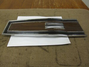 Mopar B Body Console Top Plate 1969 1970 Charger Roadrunner Dodge Plymouth