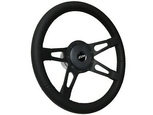 1969 1994 Chevy Camaro White Z28 S9 Sport Leather Steering Wheel Black Kit
