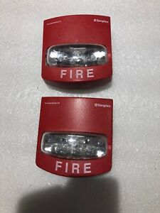 Simplex Used Strobe Only Great Condition 4906 9101 Lot Of 2