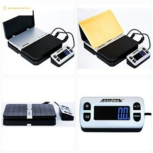 Accuteck Shippro 110lbs X 0 1 Oz Digital Shipping Postal Scale Black w 8580 1