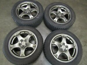 Jdm Subaru Impreza Gc8 Oem 5x100 16 Wheels With Tires