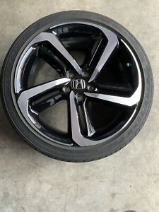 2018 2019 Honda Accord Sport Oem 19 Factory Wheel And Tire Rim Great Condition