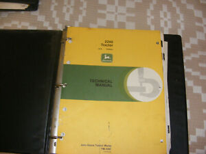 John Deere Tm4301 1975 2240 Tractor Technical Manual