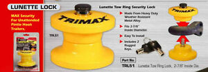 Trimax Lunette Trl51 Tow Ring Security Lock For Pintle Hook For Trailers 2 7 8