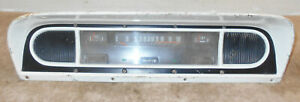 1967 Ford F series F100 F250 F350 Truck Orig Dash Gauge Panel Instrument Cluster