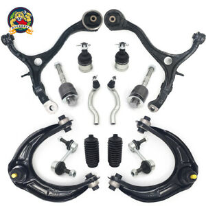 14pc Front Upper Lower Control Arm Suspension Kit For Honda Accord 2008 2012
