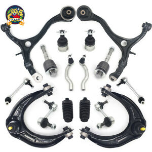 16pc Front Upper Lower Control Arm Tidrod Suspension Kit For 08 12 Honda Accord