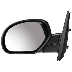 2007 2013 Chevrolet Silverado 1500 Driver Side Manual Mirror Assembly