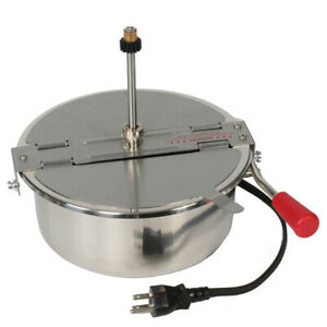 Replacement 8 Oz Kettle For Popcorn Machine Great Northern 4082 Olde Midway