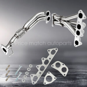 For 98 02 Honda Accord 2 3l F23 L4 Stainless Steel 4 2 1 Exhaust Header Manifold