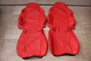 1994 1996 C4 Corvette Replacement Torch Red Seat Covers
