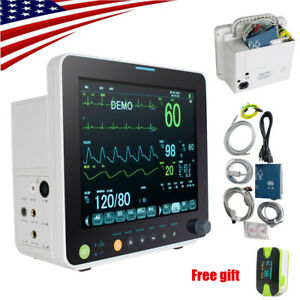 Portable Life Signs Icu Vital Signs Patient Monitor 6 Parameters storage Box Us