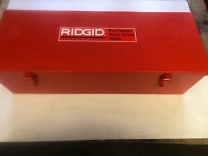 New Metal Case For A Ridgid 700 Power Pony Pipe Threader Six 12r Die Heads 1 2 2