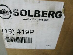 New Solberg 19p Element Intake Filter