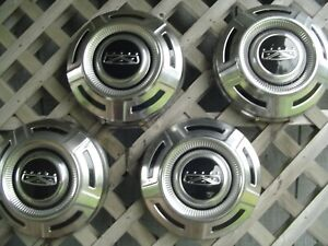 Vintage Ford 16 In Pickup Truck Center Caps Hubcaps Wheel Covers Fomoco 3 4 Ton