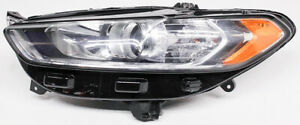 Oem Ford Fusion Left Driver Side Halogen Headlamp Lens Scratches