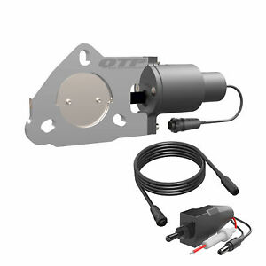 2 50 Inch Quick Time Electric Exhaust Cutout Qtec Quick Time Performance