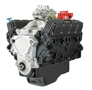 Blueprint Engines Chrysler 408 Ci Stroker Crate Engine Dressed With Carb