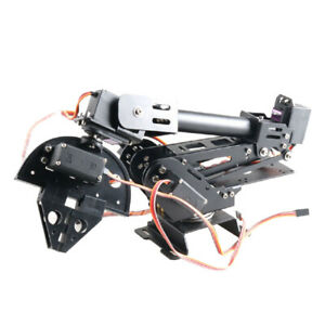 7 Dof Robot Arm Gripper With 20kg Servo Rc Robot Kit Diy Kit Educational Toy