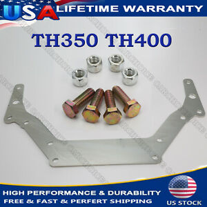 Speedway Th350 Th400 Bop To Chevy Transmission Adapter Plate 1962 Up Sliver Us