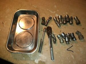 Snap On S K And Other Swivel Lot With Other Tools